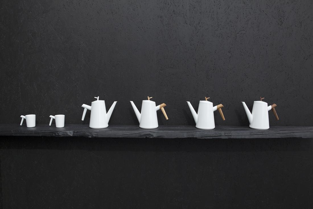 Porcelánový servis Větvení