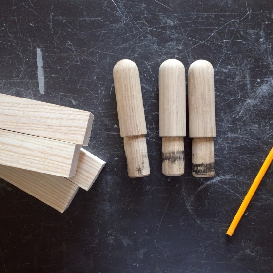 WOODEN FLAPS FOR TABLE CHRT